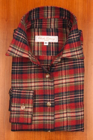 BRUSHED COTTON, TARTANS N°4