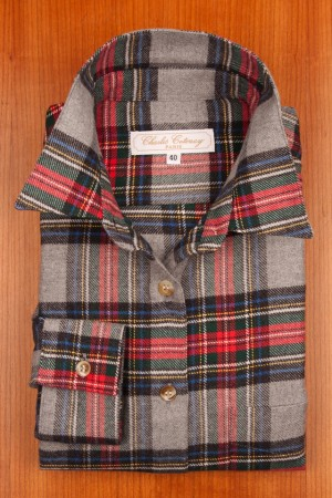 BRUSHED COTTON, TARTANS N°7