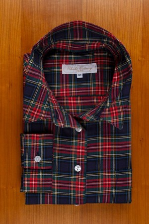 THIN COTTON FLANNELL TARTAN