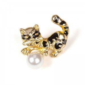 CAT & PEARL GOLD
