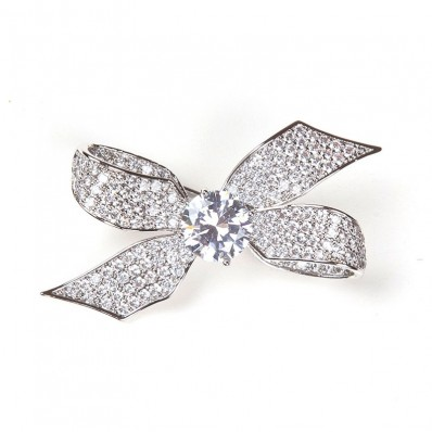 KNOT STRASS - SILVER