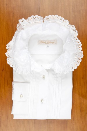 LILY OF THE VALLEY LACE COLLAR