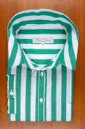 DRESS GREEN STRIPES