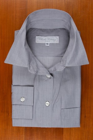 PLAIN POPLIN, LIGTH GREY