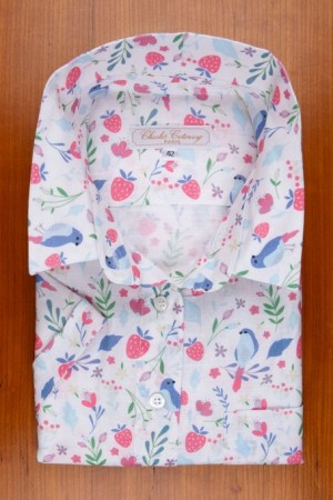 COTTON AND LINEN, BIRDS AND FLOWERS