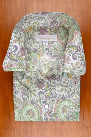 LIBERTY, PAISLEY IN SOFT GREEN