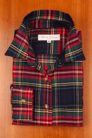 BRUSHED COTTON, TARTAN N°10