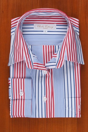 STRIPES: BLUE / RED / NAVY