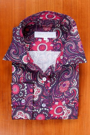 LIBERTY FLANNEL, PAISLEY DESIGN