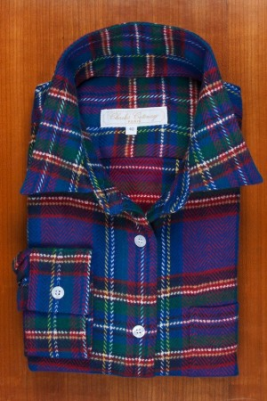 "BRUSHED COTTON, ""CHECKS TARTAN"" 1"
