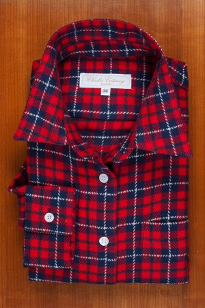 "BRUSHED COTTON, ""CHECKS TARTAN"" 2"