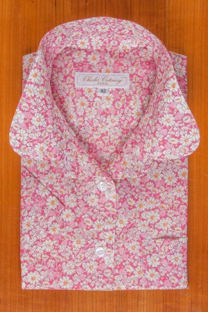 LIBERTY ALICE PINK, ROUND COLLAR