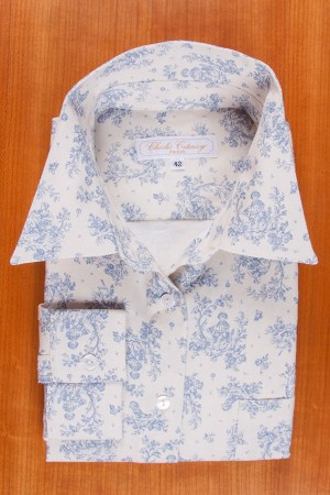 BRUSHED PRINTED COTTON N°37