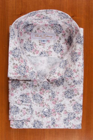 BRUSHED PRINTED COTTON N°21