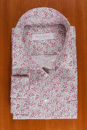 BRUSHED PRINTED COTTON N°25