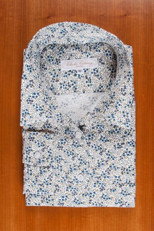 BRUSHED PRINTED COTTON N°24