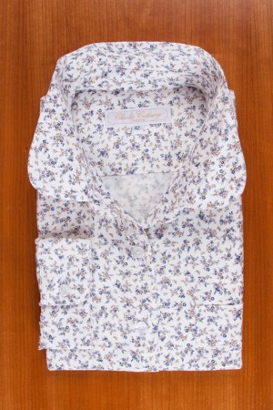 BRUSHED PRINTED COTTON N°28